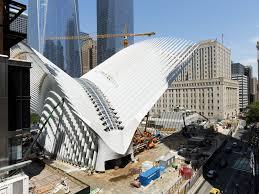 3 9 billion world trade center transit hub set to open in march