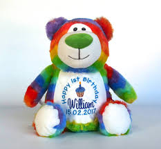 birthday bears delivered teddy bears personalised gifts myteddy