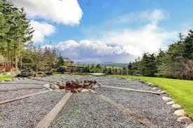 Gravel Fire Pit Area - 27 outdoor fire pit ideas design pictures designing idea