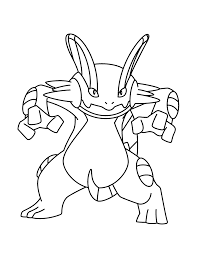 pokemon coloring pages gallade swert coloring pages