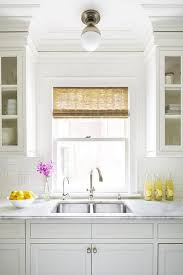 Flush Ceiling Lights For Kitchens Clark Ceiling Light Kitchen Sink Transitional Kitchen