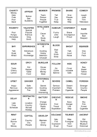 esl printable word games for adults 78 free esl taboo worksheets