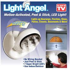 stick up led lights light angel motion activated stick up led sensor light maqaami com