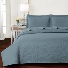 california king quilts and coverlets com mellanni bedspread coverlet set spa blue best