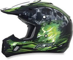 green motocross gear 94 95 afx mens fx 17 inferno helmet 2014 196085