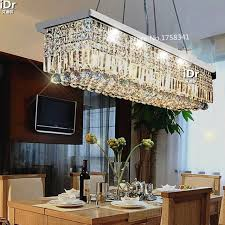 No Chandelier In Dining Room The New Listing L500mm K9 Chandelier For Dining Room