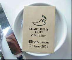 seed packets wedding favors let grow wedding favors seed packets flower