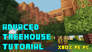 Treehouse Design Software by Minecraft Advanced Treehouse Tutorial Xbox Pe Ps3 Pc Quick