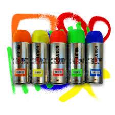 glow in the spray paint neon uv premium glow spray paint 5 x 400 ml