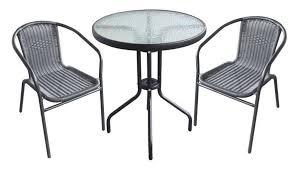 Balcony Bistro Set Patio Furniture Garden Bistro Set Table Chairs Outdoor Patio Furnitures Set For