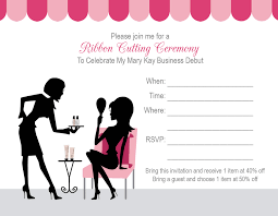 make your own party invitation mary kay party invitation wording cloveranddot com