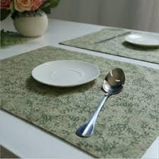 Table Place Mats Green Table Placemats Online Green Table Placemats For Sale