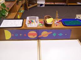 my montessori journey solar system project