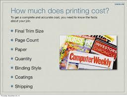 how much does it cost how much does it cost to print a magazine