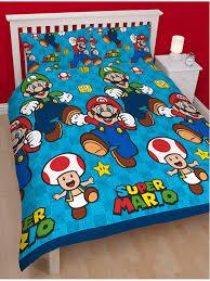 Mario Bedding Set Nintendo Mario Duvet Cover Bedding Set
