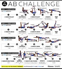 How To Do Challenge 30 Day Ab Challenge For Flatter Abs Fast Fitness Magazine