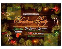 christmas dinner invitation christmas party invitation
