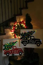 jeep christmas ornament 25 unique christmas canvas ideas on pinterest christmas canvas