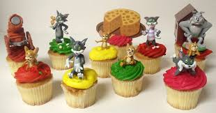 tom and jerry cake topper tom and jerry 11 birthday cupcake topper set