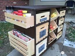vegetable storage kitchen cabinets kitchen simple and efficient ways to store fruits and vegetables