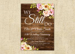 vow renewal wording vow renewal invitation wedding anniversary invitations we