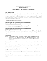 Computer Technician Resume Samples by Electronic Technician Resume Free Resume Example And Writing