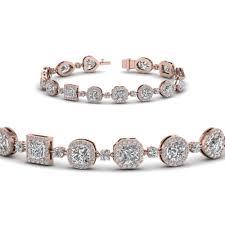 bracelet for halo diamond bracelet for women in 14k gold fascinating