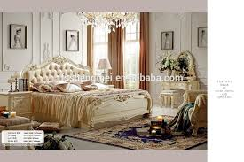 real leather king size bed new french style bedroom