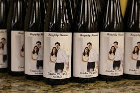 wine bottle favors custom wine bottle wedding favors your own winery riverdale nj