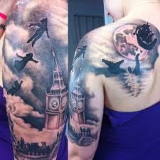 most of my half sleeve done in 2 sessions by coral petrie