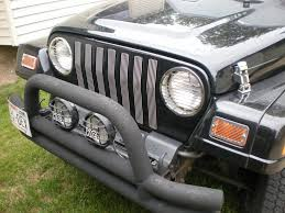Rugged Ridge Billet Grille Inserts In Black Removing Aftermarket Grille Inserts Page 2 Jeepforum Com