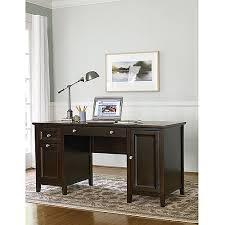 Office Desk At Walmart Canopy Cornerstone Collection Home Office Desk Mahogany Walmart