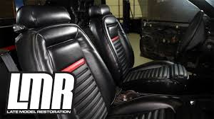 fox mustang seats 1984 1993 mustang tmi mach 1 style upholstery review