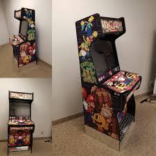 man cave arcade arcade machines
