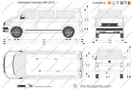 volkswagen caravelle the blueprints com vector drawing volkswagen caravelle lwb
