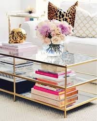 Style A Coffee Table West Elm Brass Coffee Table Coffee Table Books How To Style Your