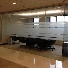 Frosted Glass Conference Table Frosted Glass Vinyl Graphics Privacy Film Climatepro