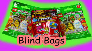 mystery surprise blind bags trash packs lego series 11 unboxing
