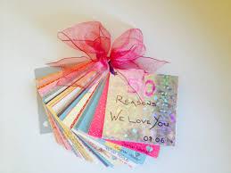 50 reasons we love you book 50th birthday gift homemade gift