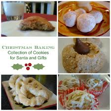 christmas baking cookies for santa and gifts