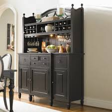 Black Buffet Hutch by Sideboards Buffets Kitchen Dining Room Gallery And Black Hutch