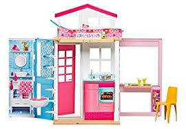 2 Stories House Amazon Com Barbie 2 Story House With Furniture U0026 Accessories