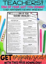 best 25 teacher checklist ideas on pinterest classroom