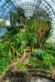 Kansas City Botanical Gardens by Crystal Bridge Tropical Conservatory Oklahoma City Ok Usa
