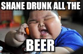 Drunk Kid Meme - shane drunk all the asian fat kid meme on memegen