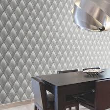 papier peint intisse chambre papier peint intisse capiton froisse gris leroy merlin effet