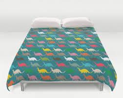Dinosaur Double Duvet Dinosaur Bedding Twin Dinosaur Bedding Trail Quilt Set In Twin