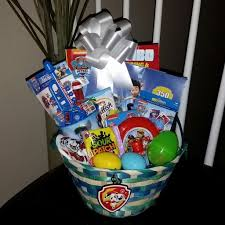 pre made easter baskets for babies diy paw patrol easter basket for a toddler easter baskets paw