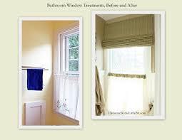 Bathroom Valances Ideas Curtain Ideas For Bathroom 30 Impressive Kitchen Window Treatment