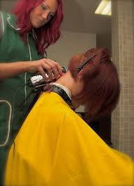 redhair nape shave 13 best action images on pinterest hair cut short hairstyle and